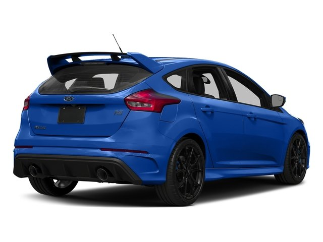 Nitrous Blue Quad-Coat 2017 Ford Focus Pictures Focus Hatchback 5D RS AWD I4 Turbo photos rear view