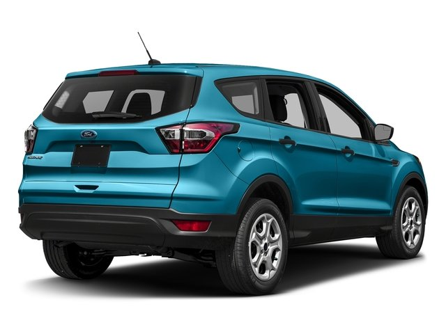 Lightning Blue Metallic 2017 Ford Escape Pictures Escape Utility 4D S 2WD I4 photos rear view