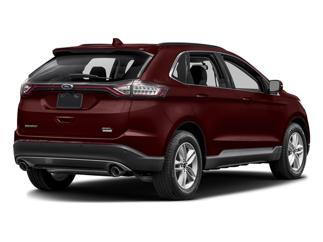 Burgundy Velvet Metallic Tinted Clearcoat 2017 Ford Edge Pictures Edge Utility 4D SEL 2WD V6 photos rear view
