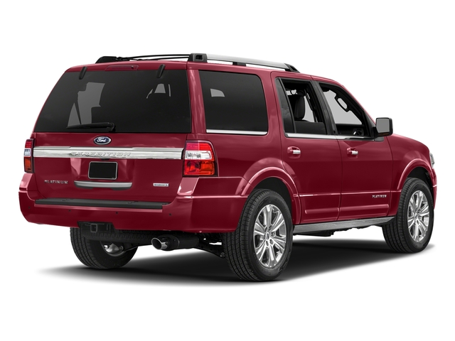 Ruby Red Metallic Tinted Clearcoat 2017 Ford Expedition Pictures Expedition Utility 4D Platinum 2WD V6 Turbo photos rear view