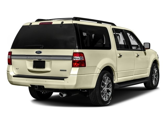 White Gold 2017 Ford Expedition EL Pictures Expedition EL Utility 4D XLT 4WD V6 Turbo photos rear view