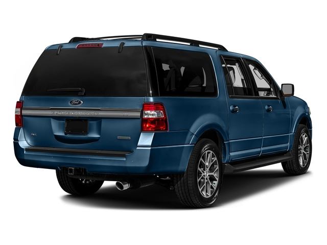 Blue Jeans 2017 Ford Expedition EL Pictures Expedition EL Utility 4D XLT 4WD V6 Turbo photos rear view