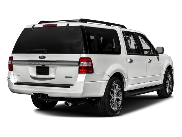 White Platinum Metallic Tri-Coat 2017 Ford Expedition EL Pictures Expedition EL Utility 4D XLT 4WD V6 Turbo photos rear view