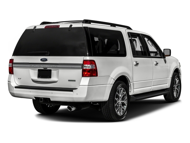 Oxford White 2017 Ford Expedition EL Pictures Expedition EL Utility 4D XLT 4WD V6 Turbo photos rear view