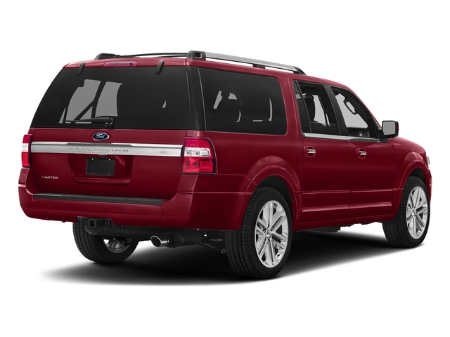 Ruby Red Metallic Tinted Clearcoat 2017 Ford Expedition EL Pictures Expedition EL Utility 4D Limited 2WD V6 Turbo photos rear view
