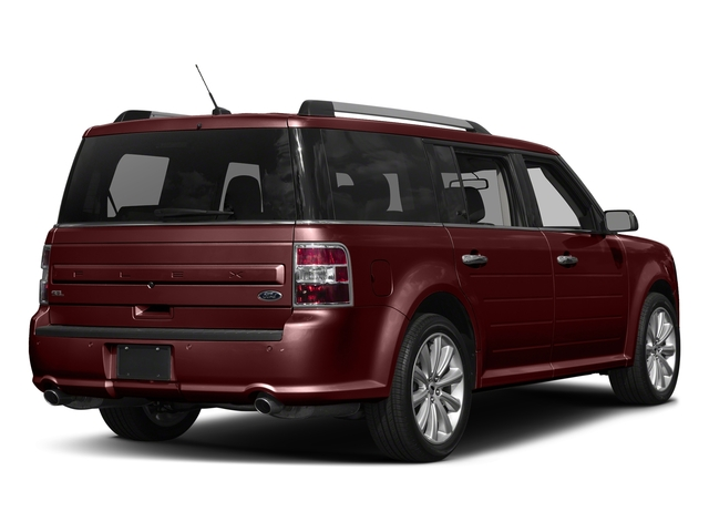 Burgundy Velvet Tinted Clearcoat 2017 Ford Flex Pictures Flex Wagon 4D Limited AWD photos rear view