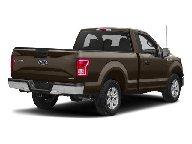 Caribou Metallic 2017 Ford F-150 Pictures F-150 Regular Cab XLT 4WD photos rear view