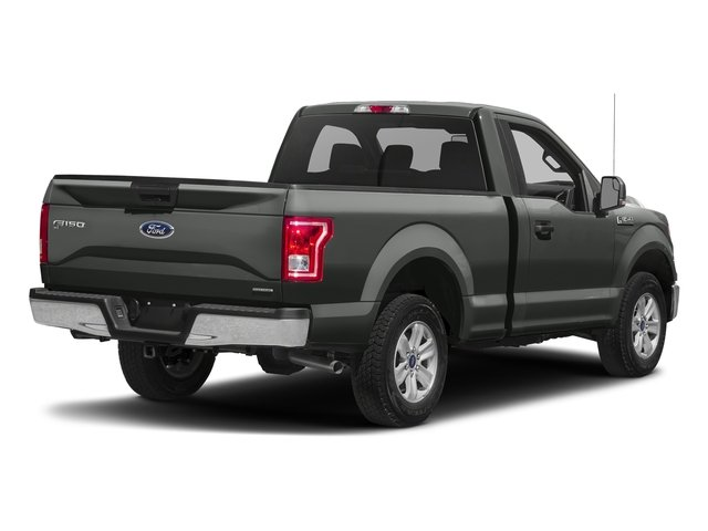 Magnetic Metallic 2017 Ford F-150 Pictures F-150 Regular Cab XLT 4WD photos rear view