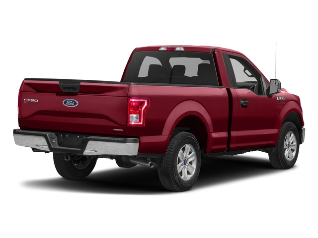 Ruby Red Metallic Tinted Clearcoat 2017 Ford F-150 Pictures F-150 Regular Cab XLT 4WD photos rear view