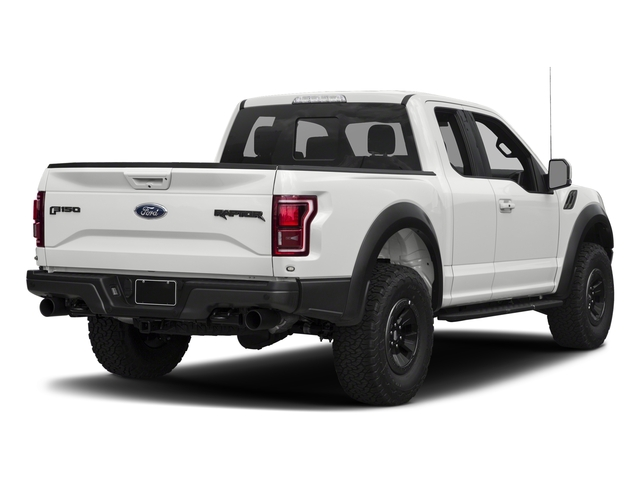 Oxford White 2017 Ford F-150 Pictures F-150 SuperCab Raptor 4WD photos rear view