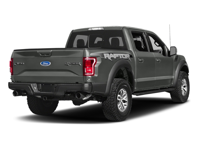 Magnetic Metallic 2017 Ford F-150 Pictures F-150 Crew Cab Raptor 4WD photos rear view