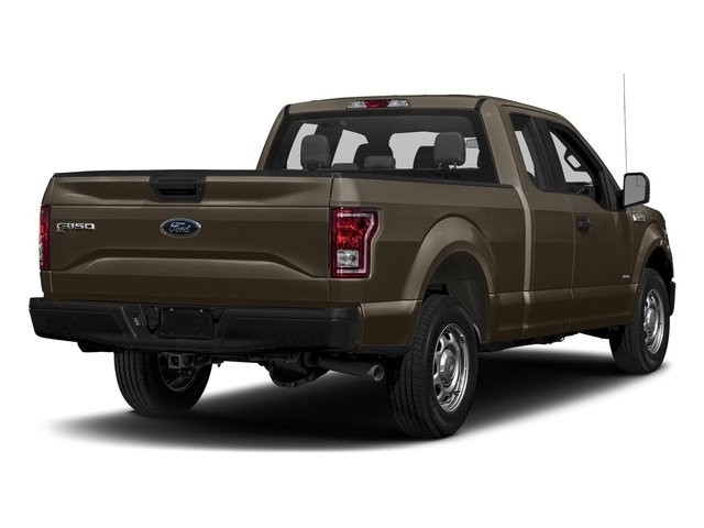 Caribou Metallic 2017 Ford F-150 Pictures F-150 Supercab XL 4WD photos rear view