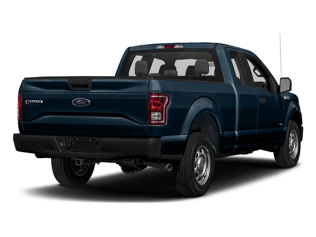 Blue Jeans Metallic 2017 Ford F-150 Pictures F-150 Supercab XL 4WD photos rear view
