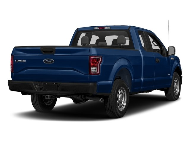 Lightning Blue 2017 Ford F-150 Pictures F-150 Supercab XL 4WD photos rear view
