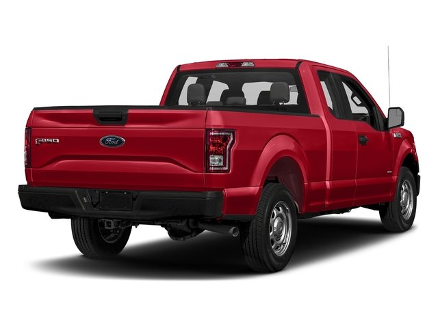Race Red 2017 Ford F-150 Pictures F-150 Supercab XL 4WD photos rear view