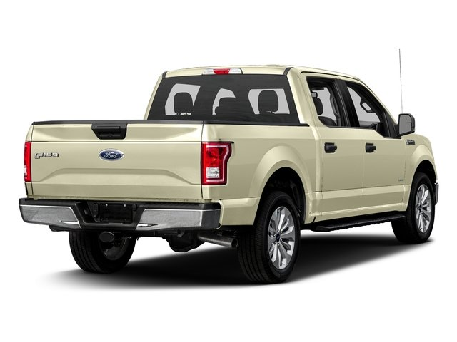White Gold 2017 Ford F-150 Pictures F-150 Crew Cab XLT 2WD photos rear view