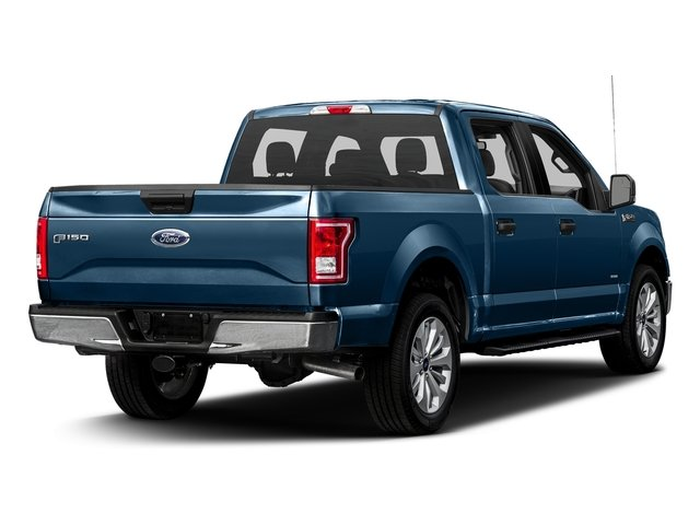 Blue Jeans Metallic 2017 Ford F-150 Pictures F-150 Crew Cab XLT 2WD photos rear view