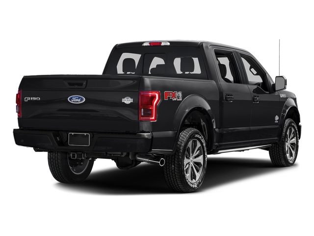 Shadow Black 2017 Ford F-150 Pictures F-150 Crew Cab King Ranch 4WD photos rear view