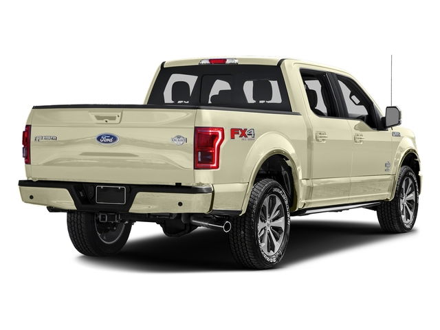 White Gold 2017 Ford F-150 Pictures F-150 Crew Cab King Ranch 4WD photos rear view