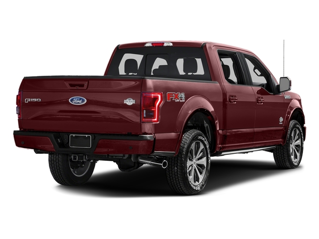 Bronze Fire Metallic 2017 Ford F-150 Pictures F-150 Crew Cab King Ranch 4WD photos rear view