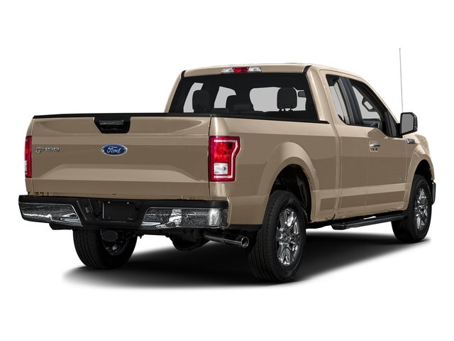 White Gold 2017 Ford F-150 Pictures F-150 Supercab XLT 4WD photos rear view