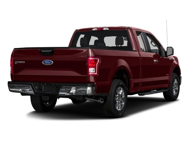 Bronze Fire Metallic 2017 Ford F-150 Pictures F-150 Supercab XLT 4WD photos rear view