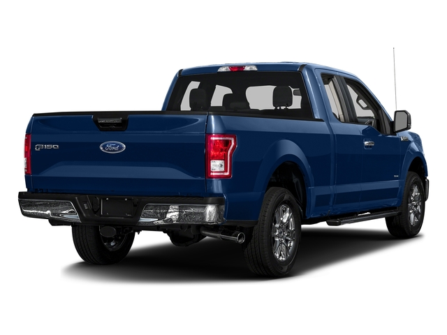 Lightning Blue 2017 Ford F-150 Pictures F-150 Supercab XLT 4WD photos rear view