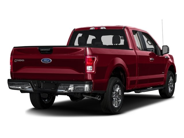 Ruby Red Metallic Tinted Clearcoat 2017 Ford F-150 Pictures F-150 Supercab XLT 4WD photos rear view