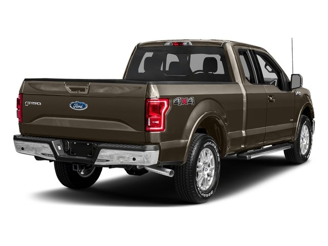 Caribou Metallic 2017 Ford F-150 Pictures F-150 Supercab Lariat 2WD photos rear view