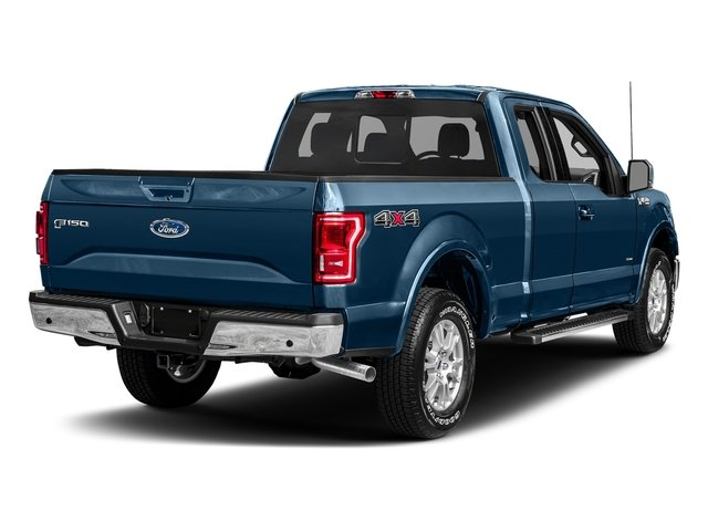 Blue Jeans Metallic 2017 Ford F-150 Pictures F-150 Supercab Lariat 2WD photos rear view