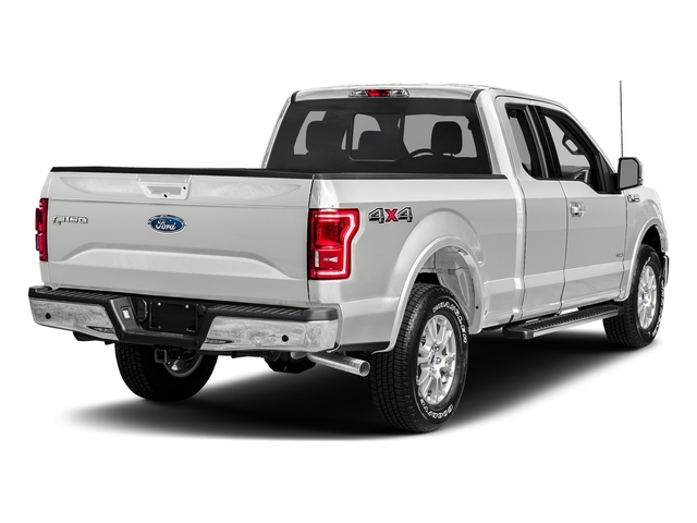 Oxford White 2017 Ford F-150 Pictures F-150 Supercab Lariat 2WD photos rear view