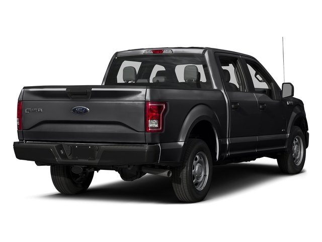 Shadow Black 2017 Ford F-150 Pictures F-150 Crew Cab XL 2WD photos rear view
