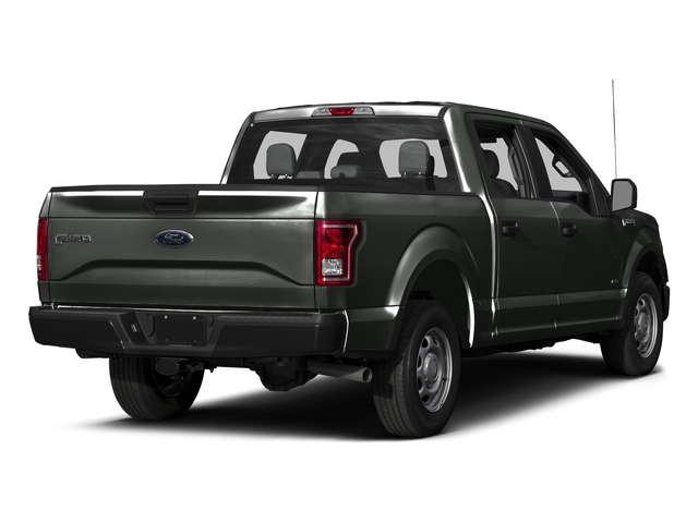 Magnetic Metallic 2017 Ford F-150 Pictures F-150 Crew Cab XL 2WD photos rear view