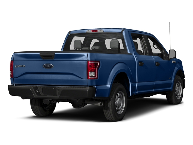 Lightning Blue 2017 Ford F-150 Pictures F-150 Crew Cab XL 2WD photos rear view