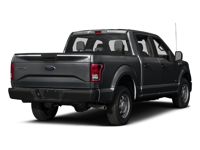 Lithium Gray 2017 Ford F-150 Pictures F-150 Crew Cab XL 2WD photos rear view
