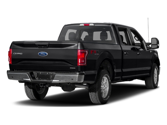 Shadow Black 2017 Ford F-150 Pictures F-150 Crew Cab Lariat 4WD photos rear view