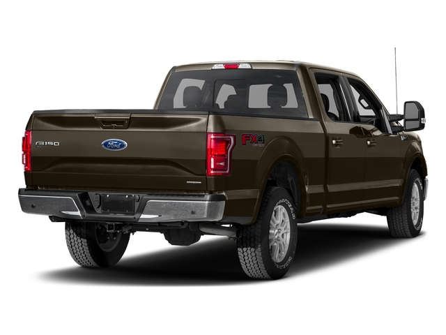 Caribou Metallic 2017 Ford F-150 Pictures F-150 Crew Cab Lariat 4WD photos rear view