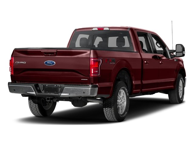 Bronze Fire Metallic 2017 Ford F-150 Pictures F-150 Crew Cab Lariat 4WD photos rear view