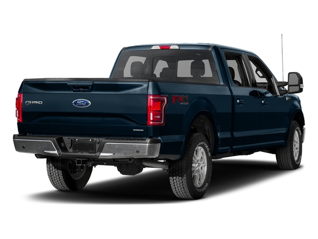 Blue Jeans Metallic 2017 Ford F-150 Pictures F-150 Crew Cab Lariat 4WD photos rear view