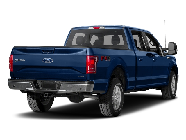 Lightning Blue 2017 Ford F-150 Pictures F-150 Crew Cab Lariat 4WD photos rear view