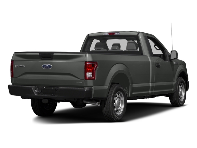 Magnetic Metallic 2017 Ford F-150 Pictures F-150 Regular Cab XL 4WD photos rear view