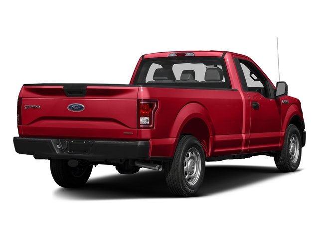 Race Red 2017 Ford F-150 Pictures F-150 Regular Cab XL 4WD photos rear view