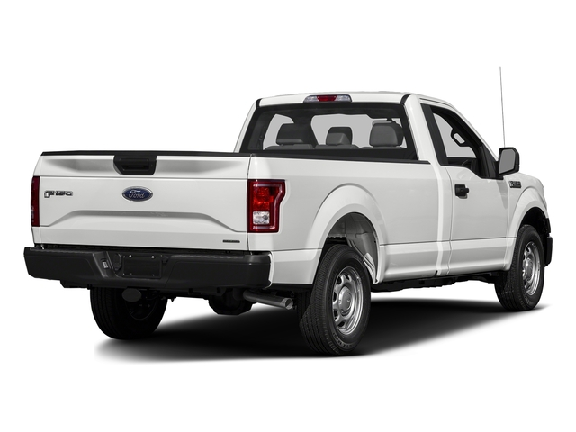 Oxford White 2017 Ford F-150 Pictures F-150 Regular Cab XL 4WD photos rear view