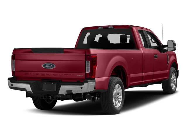 Ruby Red Metallic Tinted Clearcoat 2017 Ford Super Duty F-350 SRW Pictures Super Duty F-350 SRW Supercab XLT 2WD photos rear view