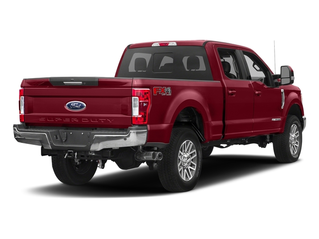 Ruby Red Metallic Tinted Clearcoat 2017 Ford Super Duty F-250 SRW Pictures Super Duty F-250 SRW Crew Cab Lariat 4WD photos rear view