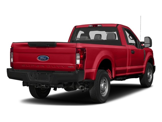 Race Red 2017 Ford Super Duty F-250 SRW Pictures Super Duty F-250 SRW Regular Cab XL 2WD photos rear view