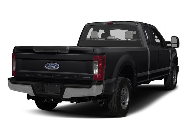 Shadow Black 2017 Ford Super Duty F-250 SRW Pictures Super Duty F-250 SRW Supercab XL 4WD photos rear view