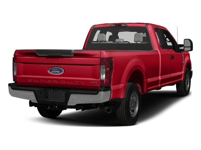 Race Red 2017 Ford Super Duty F-350 SRW Pictures Super Duty F-350 SRW Supercab XL 4WD photos rear view