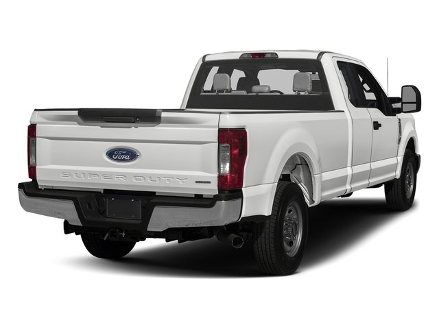 Oxford White 2017 Ford Super Duty F-350 SRW Pictures Super Duty F-350 SRW Supercab XL 4WD photos rear view