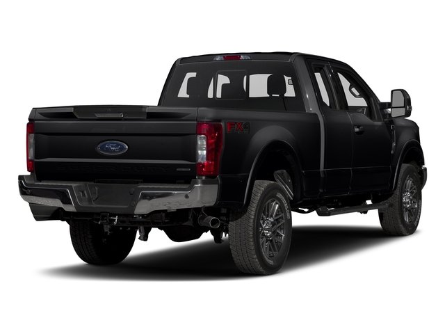 Shadow Black 2017 Ford Super Duty F-250 SRW Pictures Super Duty F-250 SRW Supercab Lariat 4WD photos rear view